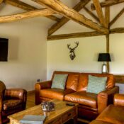 holiday cottage with private fishing lake